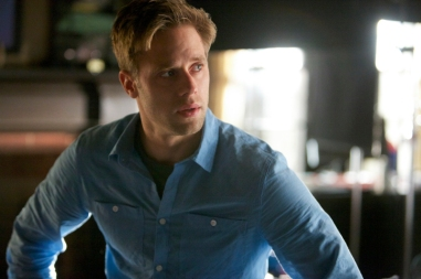 """The Vampire Diaries -- """"The Cell"""" -- Image Number: VD509a_0117.jpg -- Pictured: Shaun Sipos as Aaron -- Photo: Annette Brown/The CW -- © 2013 The CW Network, LLC. All rights reserved."""
