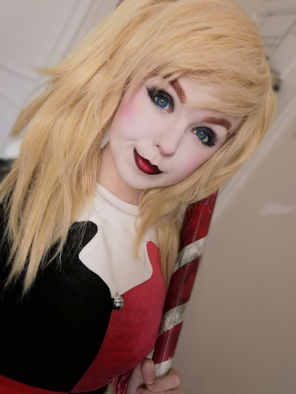 A Super Easy Harley Quinn Makeup Tutorial Quixotic